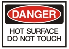 hot surface