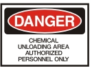 chemical unloading area