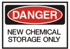 new chemicals storage