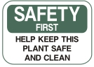 keep this plant safe and clean
