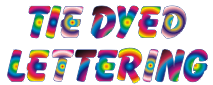 tie dye letters decalzone tie dye lettering and lettering kits 1313